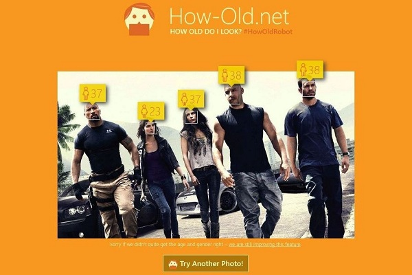 How-old.net photos