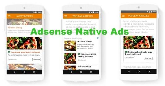 adsense native ads wordpress