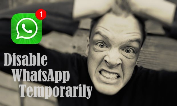 temporarily disable whatsapp copy