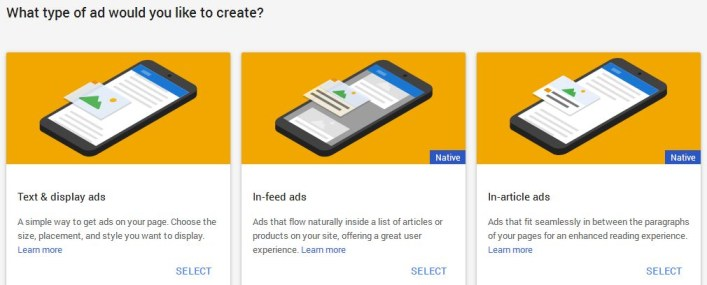 add adsense native ads to wordpress